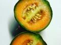 Melon från växthuset