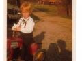 Mickes första traktor 1972